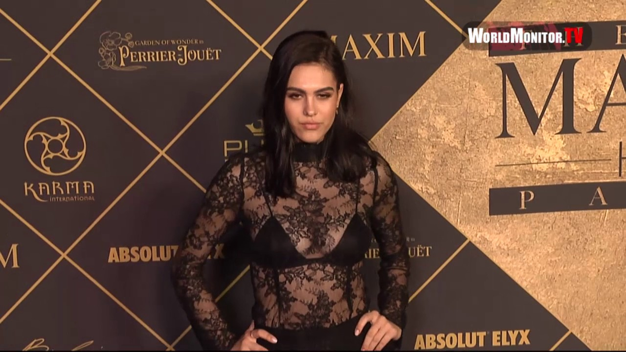 Model Amelia Gray Hamlin arrives at 2017 MAXIM Hot 100 Party