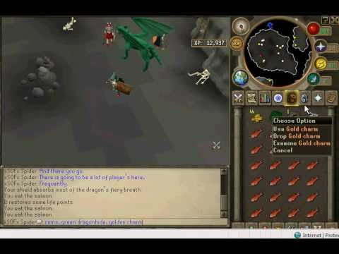 Runescape Green Dragonslocationdrops Youtube