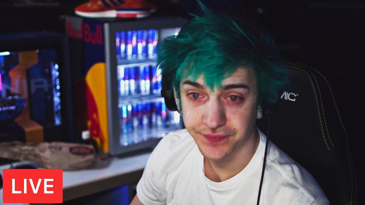 Everyone CONCERNED as NINJA *ACCIDENTALLY* Goes LIVE on Twitch! - Fortnite  Moments