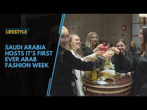 Saudi Arabia hosts it's first ever Arab Fashion Week