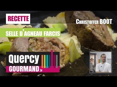 Recette : Selle agneau fermier du quercy, pignon & roquette – quercygourmand.tv