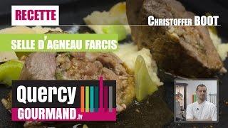 Recette : Selle agneau fermier du quercy, pignon & roquette - quercygourmand.tv