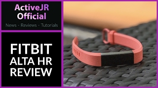 fitbit alta hr review best fitness tracker 2017