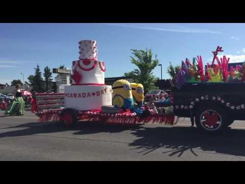 Canada Day Parade-Airdrie Alberta-2017