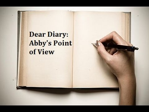 Dear Diary: Abby's Point of View (by CreepyMissusPasta)