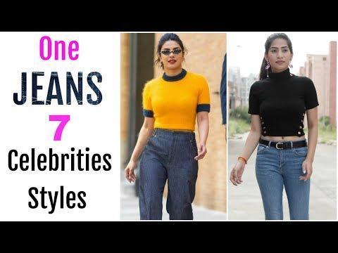 One JEANS To WEAR In 7 Bollywood STYLES - Dress Like Deepika, Priyanka, Alia | Anaysa. http://bit.ly/2zwnQ1x