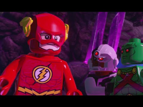 LEGO Batman 3 - 100% Guide #13 - Power of Love (All Collectibles - Minikits, Red Brick etc)