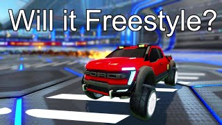 Rocket League Ford F150... Will it Freestyle?