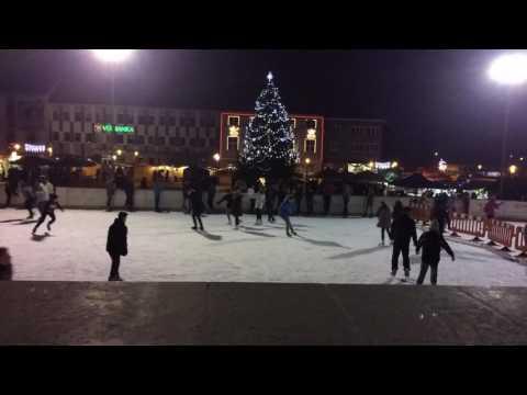 Christmas markets in Prievidza, Slovakia
