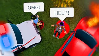I Got Into A Really Bad CAR CRASH! Rushed To The HOSPITAL!! (Roblox)