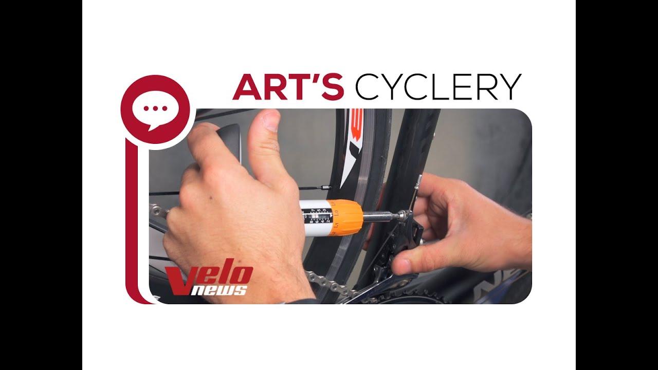 67ed08710bf Ask A Mechanic: Front Derailleur Trim Set Up & Adjustment - YouTube