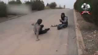 Repeat youtube video Syria-  FSA Terrorists RUN from Syrian Arab Army [HQ] 02-04-2013