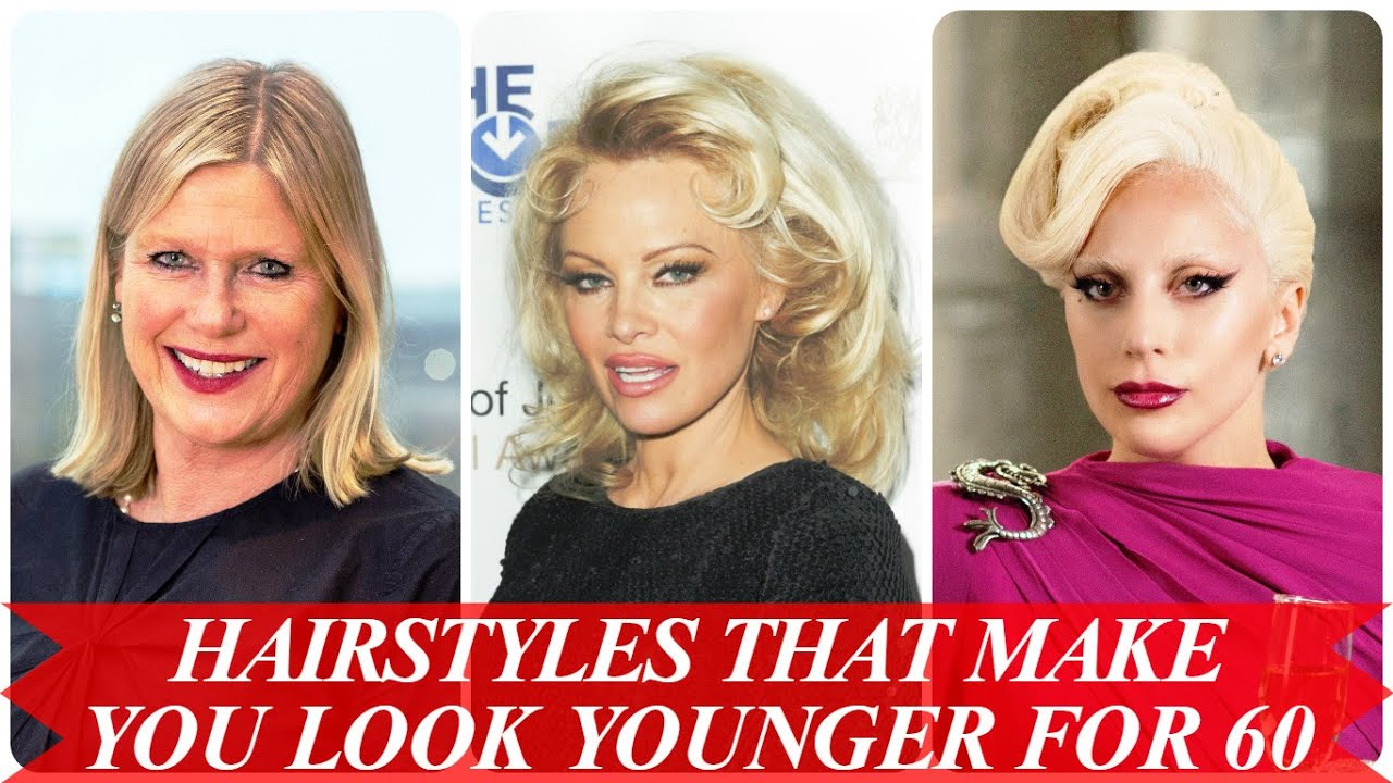 Hairstyles that make you look younger for 60