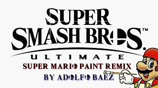 Super Smash Bros. Ultimate Main Theme (Super Mario Paint Remix)
