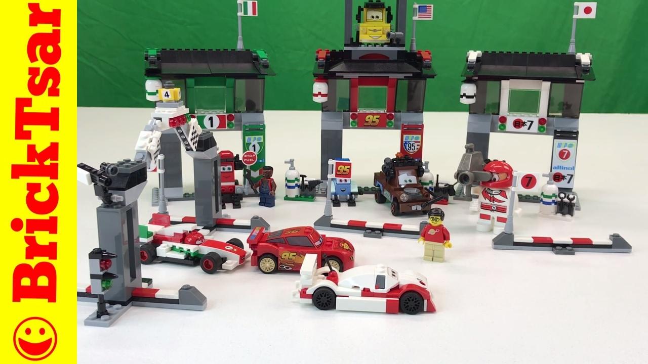 LEGO Disney Cars 2 8679 Tokyo International Circuit Set-Shu Todoroki,  Lightning McQueen