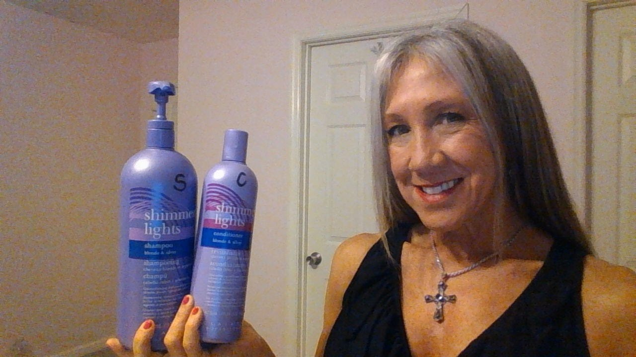 shampoo shimmer to purple grey of power lighting maintain get how lights hair gray watch