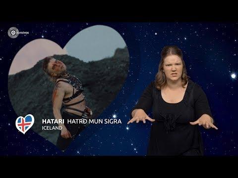 Hatari - Hatrið mun sigra | IJsland 🇮🇸 | Gebarentaal | ESC19