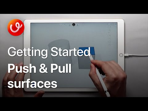 3D Design Video Courses: Push & Pull Surfaces | uMake - 3D