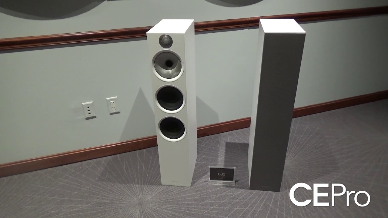 ce pro bowers and wilkins 600 series youtube. Black Bedroom Furniture Sets. Home Design Ideas