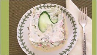 """Салат с крабовыми палочками """"Нежный""""-и быстрый, и вкусный, и сытный"""