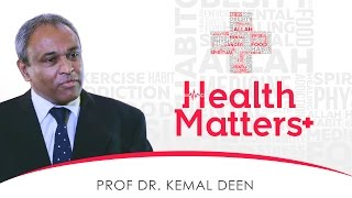 Health Matters+ ┇ Interview With Prof. Dr. Kemal Deen ┇ TDR Production ┇