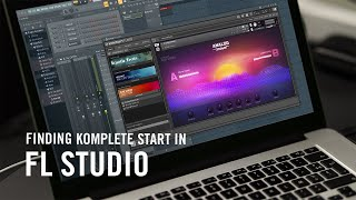 How to Use KOMPLETE START with FL Studio   Native Instruments