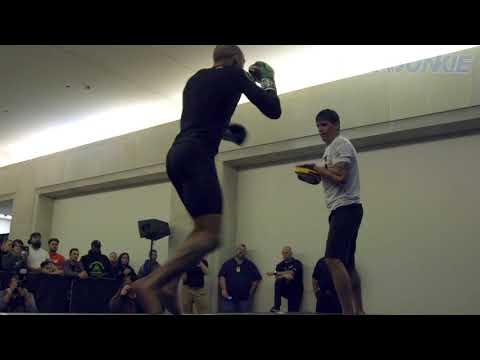 UFC Fight Night 128 open workout: Edson Barboza