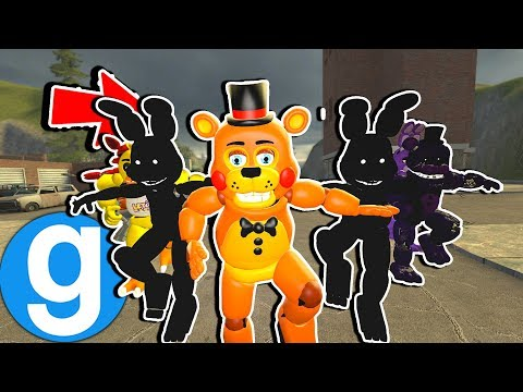 THE ANIMATRONICS CAN DO FORTNITE EMOTES NOW! [Garry's Mod Sandbox] Five Nights at Freddy's thumbnail