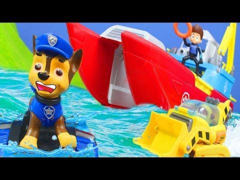 رجل الإطفاء مارشال في مهمة جديدة مع رايدر و تشيس و سكاي و رابل
