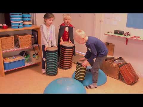 Musiken stärker på Almens förskola