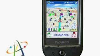 Pharos GPS 525 Pocket PC with WiFi and Bluetooth