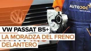 Instalación Juego de reparación pinza de freno VW PASSAT Variant (3B5): vídeo gratis