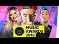 Die BESTEN YouTuber-Songs 2018! | WWW Music Awards