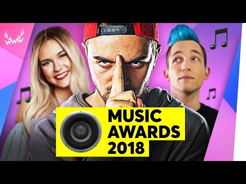Die BESTEN YouTuber-Songs 2018!   WWW Music Awards (mit 2Bough)
