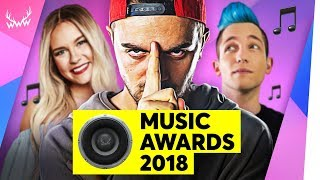 Die BESTEN YouTuber-Songs 2018! | WWW Music Awards (mit 2Bough)