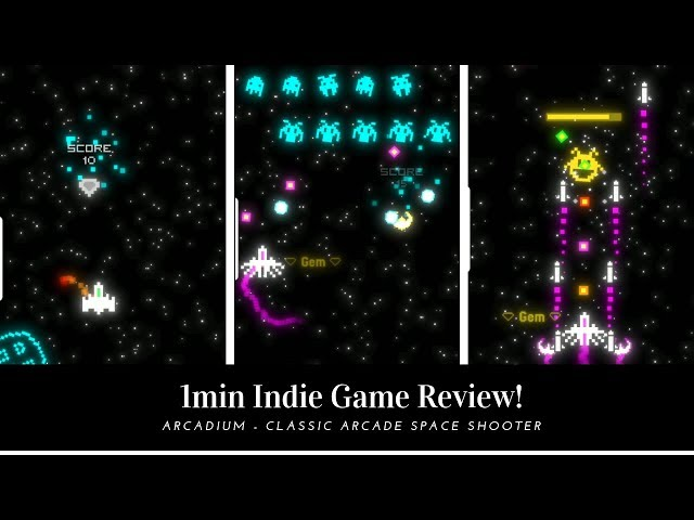 1 min Indie Game Review - Arcadium