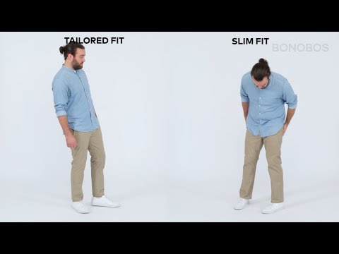 What's the Difference Between Bonobos' Slim and Tailored Fits? | Bonobos