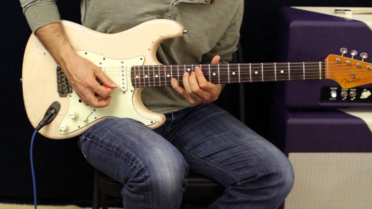 how to play van halen feel your love tonight style guitar