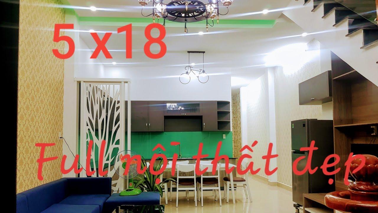 mẫu nhà lầu Hiện Đại 3 phòng ngủ Dt 5×18.ở TP Thủ Dầu Một Bình Dương.nhà mái thái thiết kế đẹp