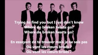 One Direction - Where Do Broken Hearts Go (Lyrics + Traduction Française)