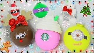 6 DIY Easy Christmas Tree Ornaments! Christmas Tree Decor!