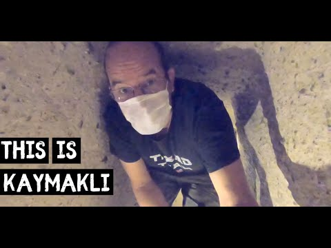 We headed into a TURKISH UNDERGROUND City - Kaymakli