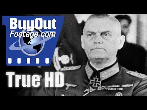 German Government Ratifies Surrender In Berlin - Historic HD Footage