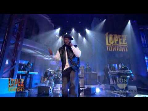 """Lopez Tonight - """" Baby By Me / Do You Think About Me """" - 50 Cent - Live HD"""
