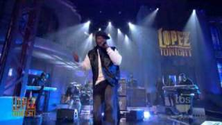 "Lopez Tonight - "" Baby By Me / Do You Think About Me "" - 50 Cent - Live HD"