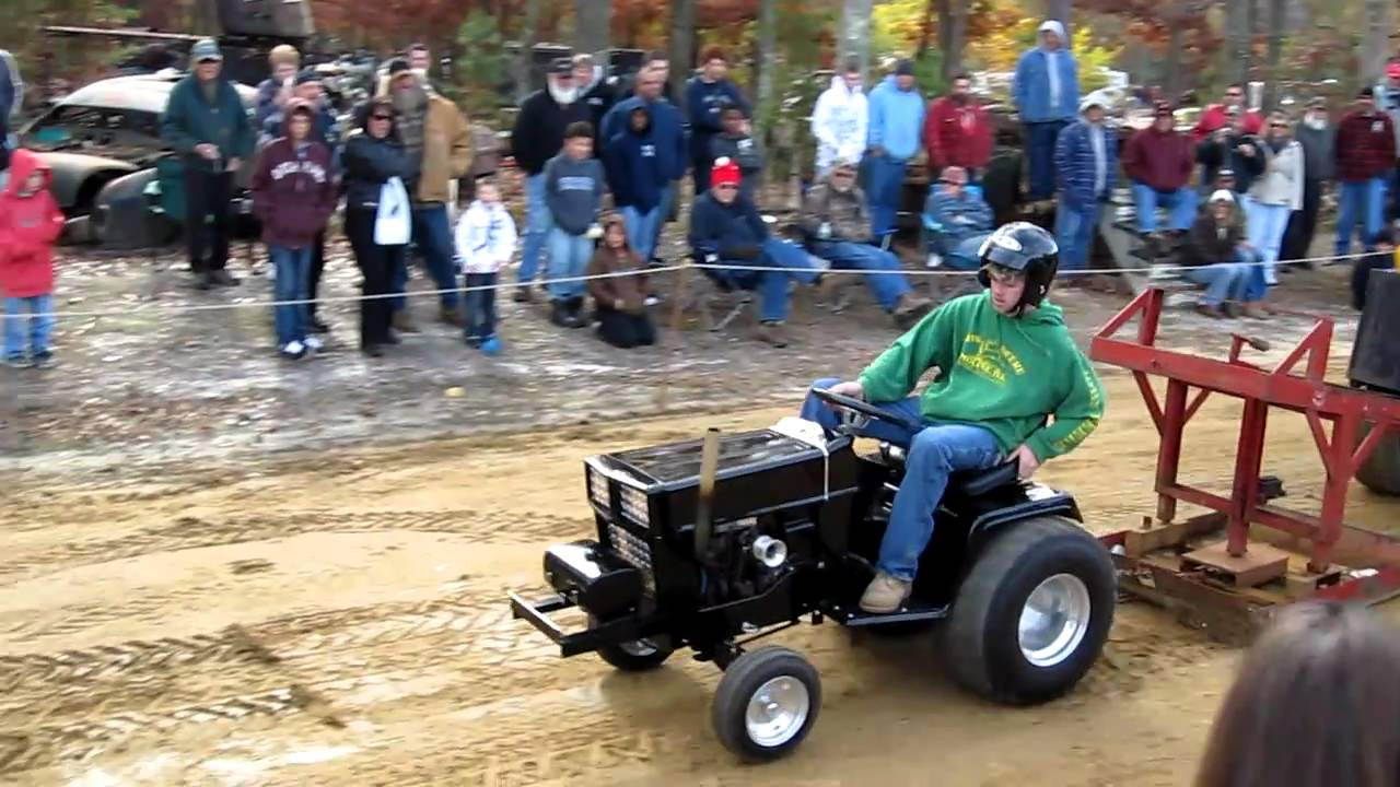 Garden Tractor Full Pull 15th Annual Pumkin Run Fleming 39 S Auto Parts In Egg Harbor Nj In Hd