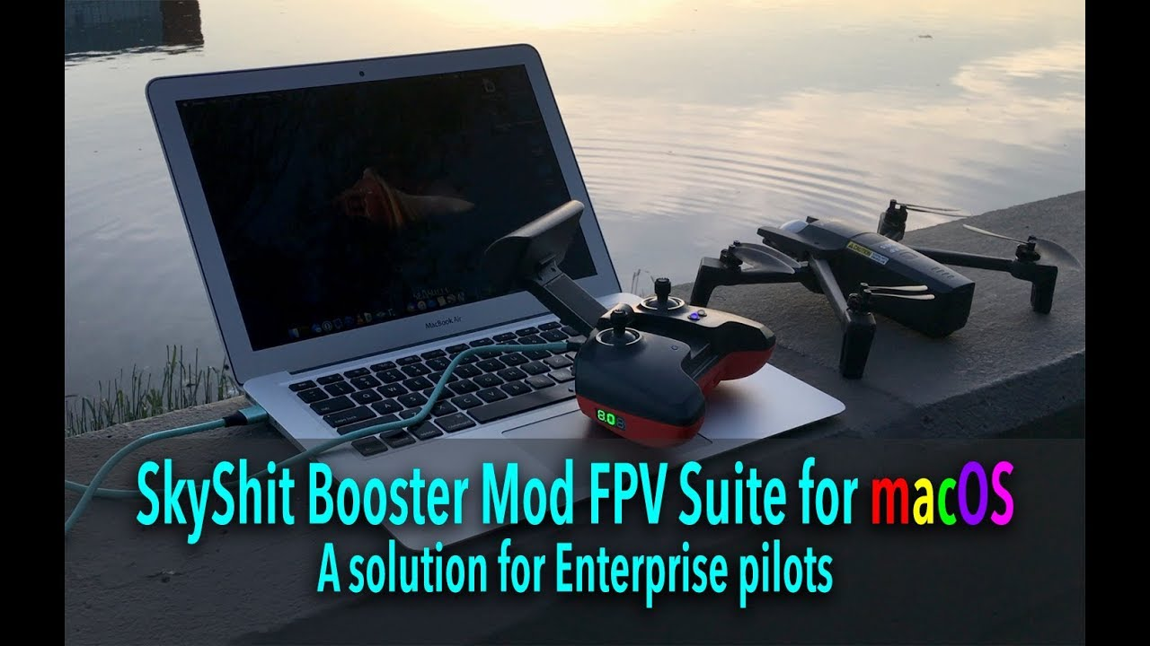 Making of SkyShit 2 Booster Mod for SkyController 2, Bebop 2