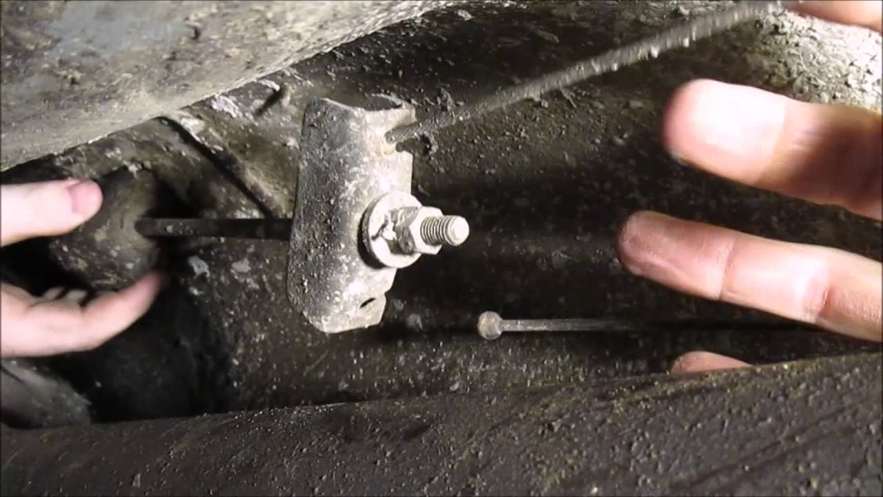 Parking Brake And Drum Brake Adjustment And Diagnosis