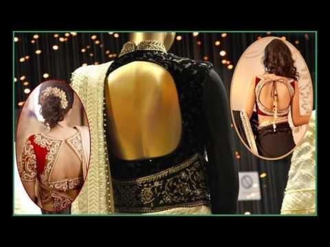 Latest Blouse Back Designs 2016