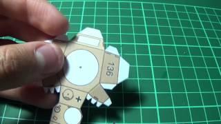 tutorial papercraft 2 | doblar piezas rectas y curvas